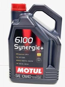 Motul (5 Litre) 6100 Synergie+ 10W40 Engine Oil