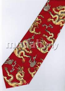 Royal Dragon All Around Animal Novelty Neck Tie