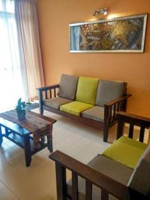 Clean Bayu Emas 3BR Apt Across Beach (Free Wifi)
