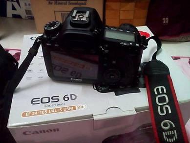 Dslr : canon 6d for sale