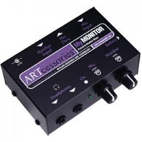 ART MyMONITOR Personal Mic/Line Monitor Mixer