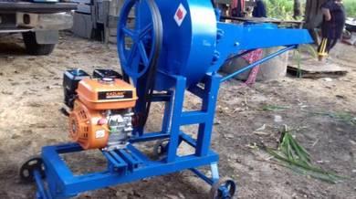 Mesin chopper heavy duty petrol 8.0 hp pelepah