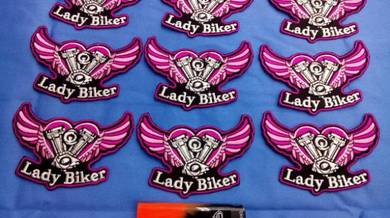 Patches lady rider pl01