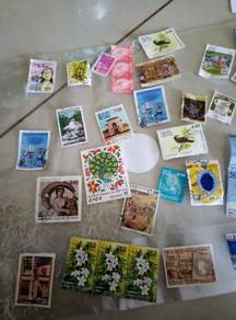 STAMPS (from Sri Lanka and France)