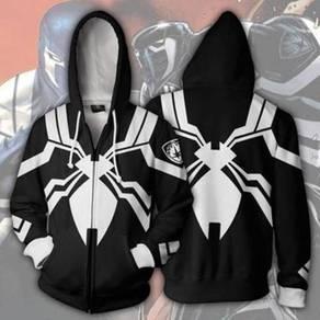 Venom Space Knight Zip Up Hoodie jacket RBT0078