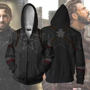 Captain america avengers Hoodie jacket RBT0080