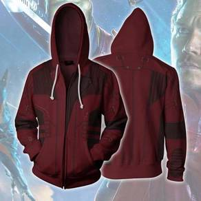 Star lord guardians of the galaxy Hoodie jacket R