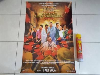 Poster Senario PEMBURU EMAS YAMASHITA Original 06