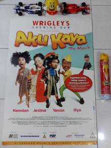 Poster AKU KAYA THE MOVIE Limited Edition 2003