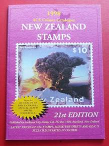 1998 New Zealand Stamps Catalogue