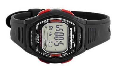 Casio Ladies Digital Rubber Watch LW-201-4AVDF