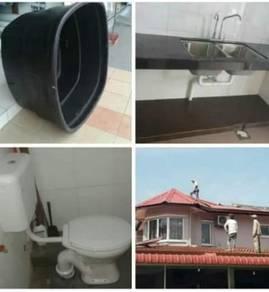 Servis tukang repair sink dan tandas