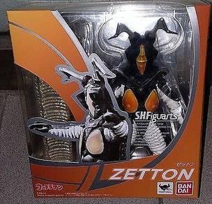 Bandai SHF Figuarts Alien Zetton kaiju Ultraman