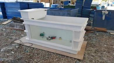 Fibreglass Tank With Glass ( Aquaculture )