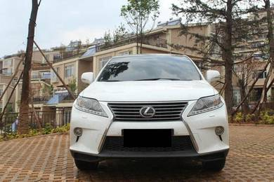 Lexus Rx270 Rx350 Facelift front bumper with grill