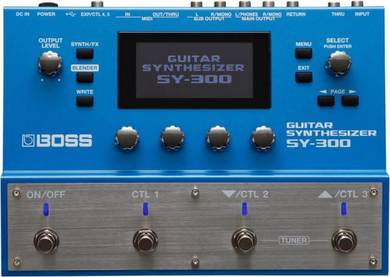 Boss sy300 Guitar Synth (sy300) - FREE Cable & He