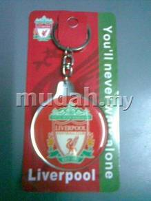 Liverpool FC 2-Side Plastic Pendant Key chain 52mm