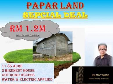 Papar LAND for SUPER DEAL