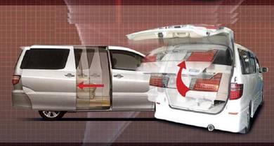 Toyota Alphard 2000-2006 install power auto door