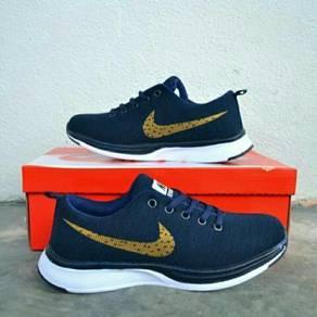 Nike Flyknit Racer Blue Gold