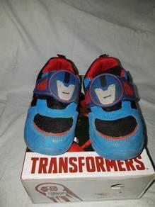 Kasut Transformers Kid Shoes