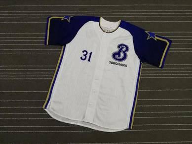 Baseball jersey Yokohama 31 saiz xl