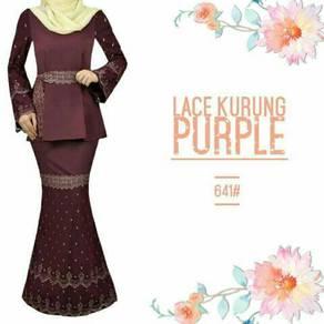641# Lace kurung