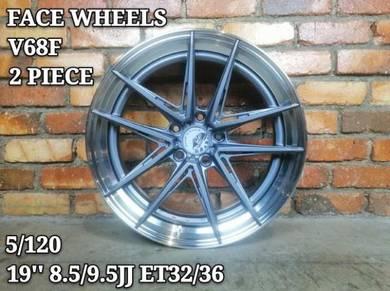 Face wheels 2 piece v68f 19inc f30 f10 f34 f12