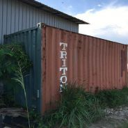 Used shipping container GP 20ft