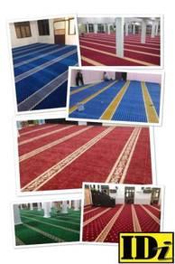 Carpet masjid PERLIS/ idi karpet n flooring/ ZDV6