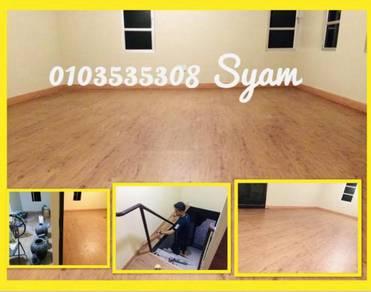 Flooring n skirt -vinyl / spc laminate /6gty