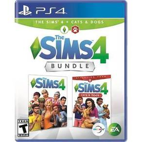 PS4 The Sims 4 + Cats & Dogs Bundle