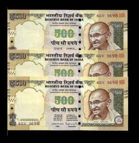 India 500 rupees 2016