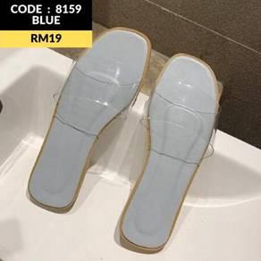 8159 Summer Transparent Sandals ( size 35-39)