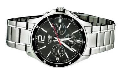 Casio Men Multi Hands Watch MTP-1374D-1AVDF