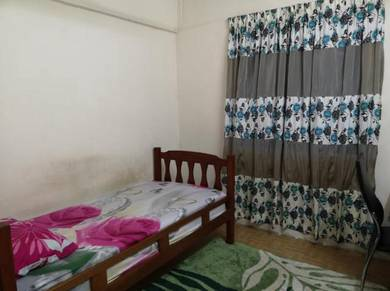 Bilik Single Fully Furnished 4 Muslim Men Pangsapuri College Height