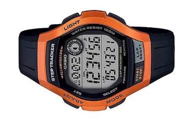 Casio Men Digital Step Tracker Watch WS-2000H-4AVD