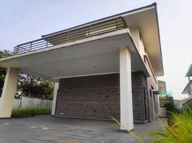 Adda Heights Purple Field Endlot Link Bungalow 53x85 Freehold