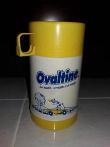 Vintage ovaltine thermos lama