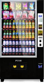 New Single Combo Vending machine