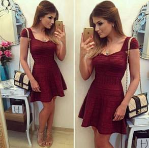 Women Mini Dress (WCXHT28327)