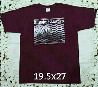 Crooks & Castles Maroon