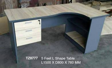 Office Furniture / L Shape Table TZ8777 (5 FT)