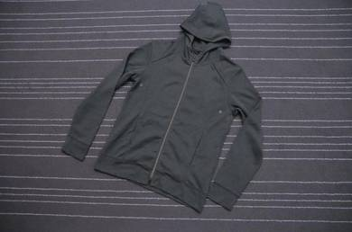 Green army parka hooded saiz s to m