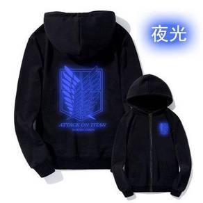 Anime glow in light sweater