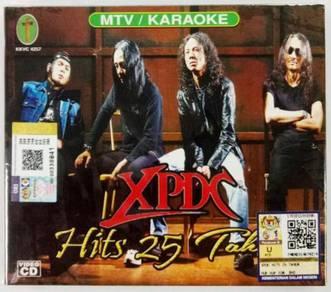 VCD XPDC Hits 25 Tahun Karaoke VCD