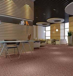 Modern Plain Design Carpet Roll With Install-3r342