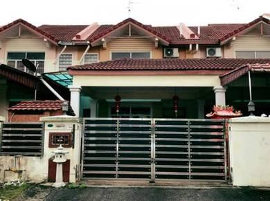 Mutiara rini double storey renovated, Skudai