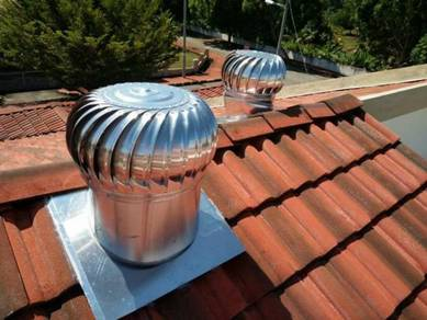 Wind Roof Attic Exhaust Fan & Air Vent 21-JHNX