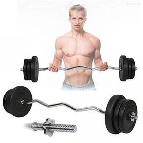 Barbell curl / straight 10